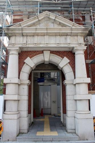 0238:旧第一銀行神戸支店 西側玄関