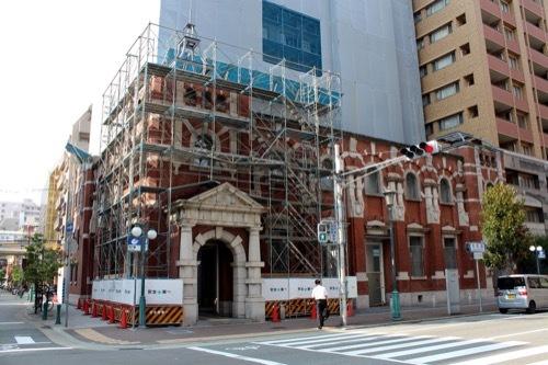 0238:旧第一銀行神戸支店 道路対向側より①