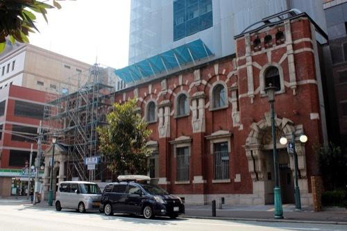 0238:旧第一銀行神戸支店 道路対向側より③