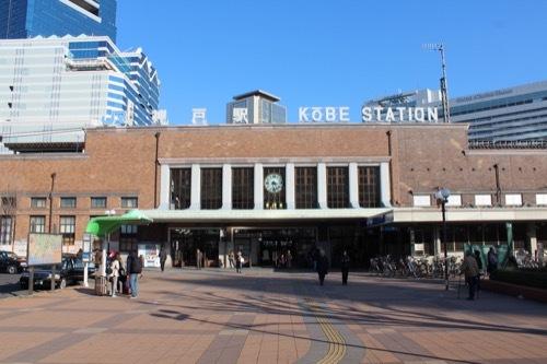0239:JR神戸駅舎 北出口の様子①
