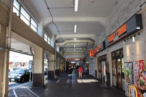 0240:JR兵庫駅舎 庇と西側空間③