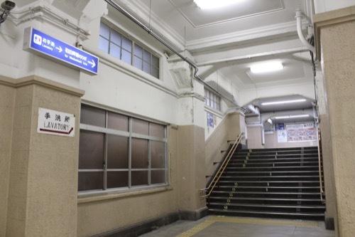 0240:JR兵庫駅舎 階段③