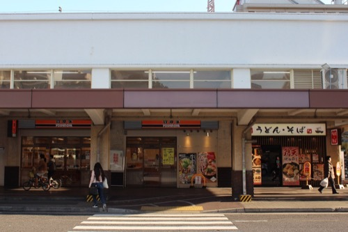 0240:JR兵庫駅舎 庇と西側空間①