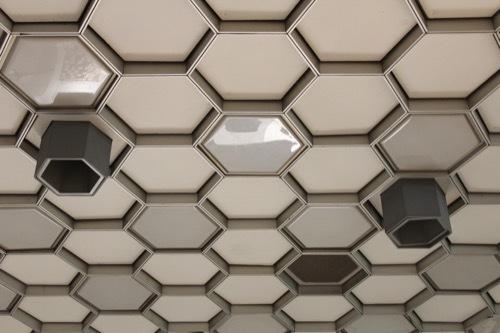 0241:ソニービル フロア最上部の天井②
