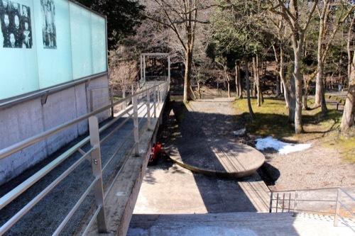0242:植村直己冒険館 スロープブリッジ