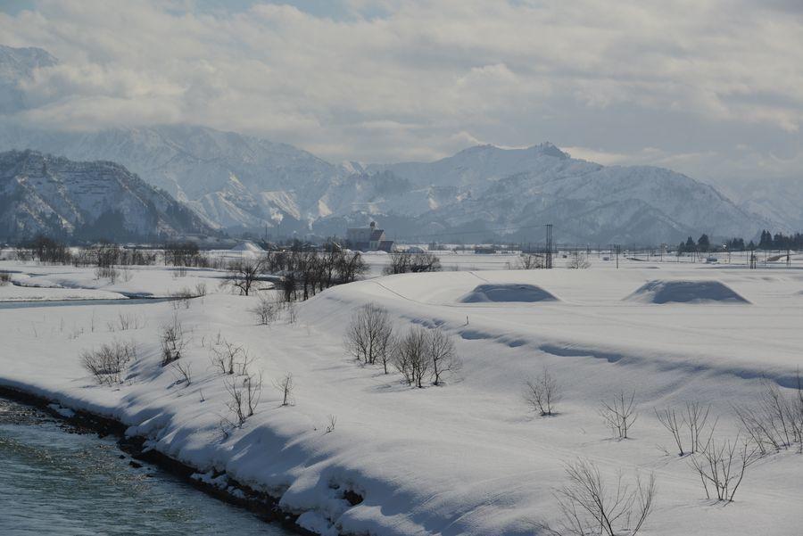 雪の魚野川-5