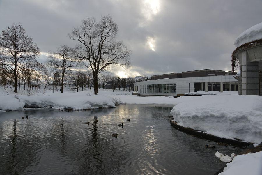 雪の美術館-1