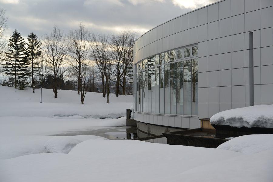 雪の美術館-2