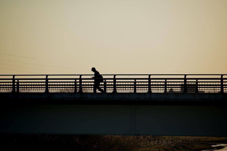 二月最後の日 川辺-3