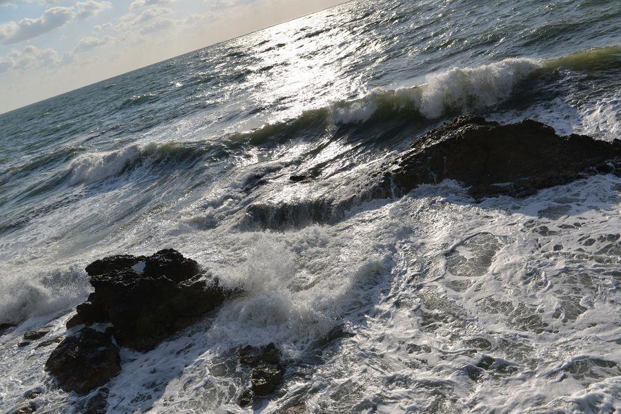 荒れる海-5