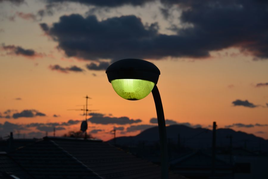 久々の夕陽-4