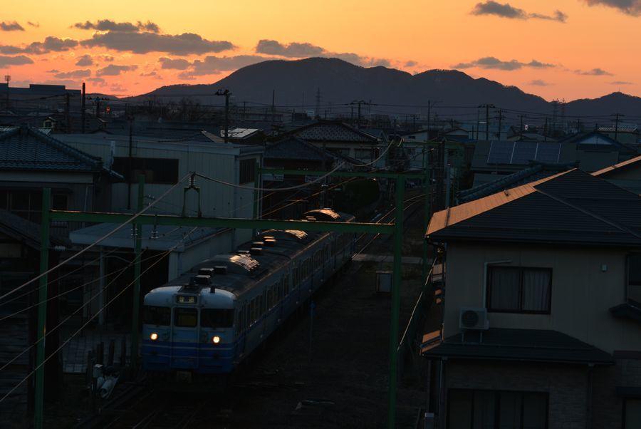 久々の夕陽-5