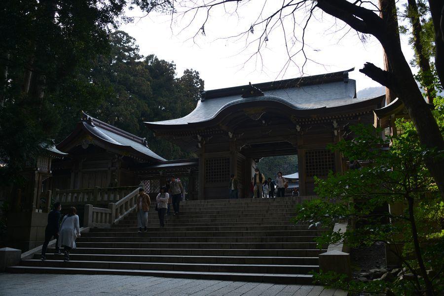 彼岸の弥彦神社-3