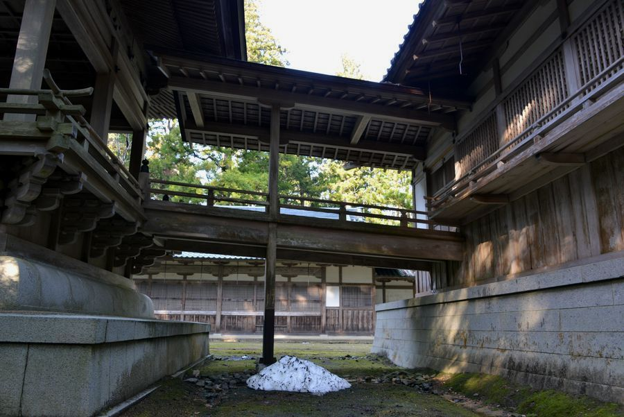 彼岸の弥彦神社-5