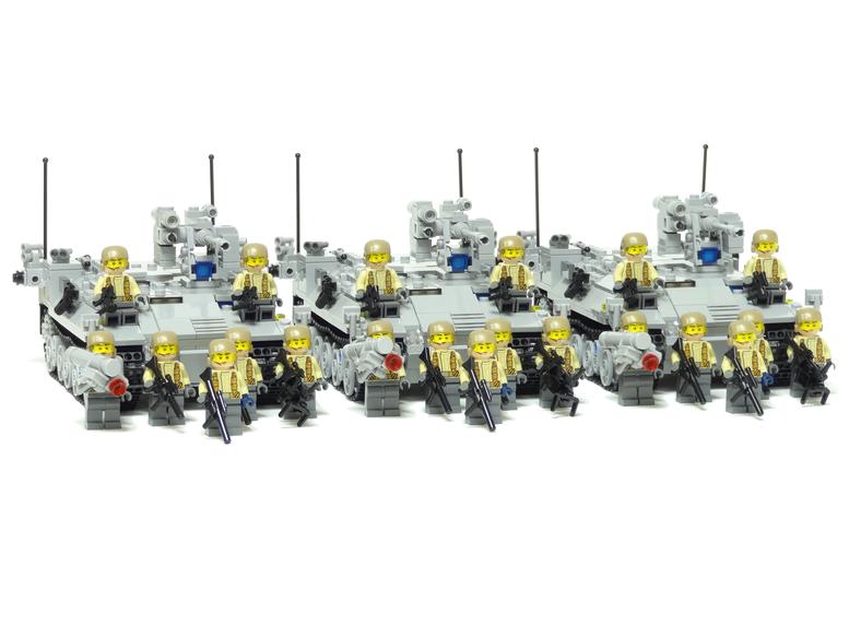 レゴ 機械化歩兵連隊