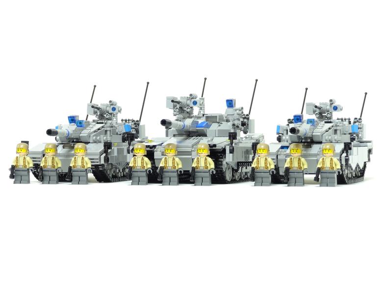 レゴ 戦車部隊