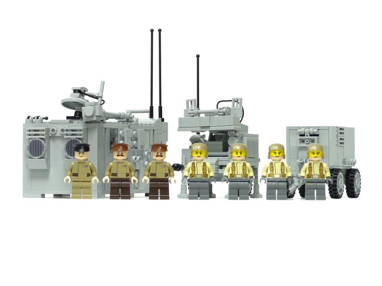レゴ 旅団・師団司令部