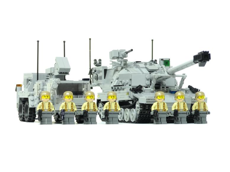 レゴ 砲兵部隊