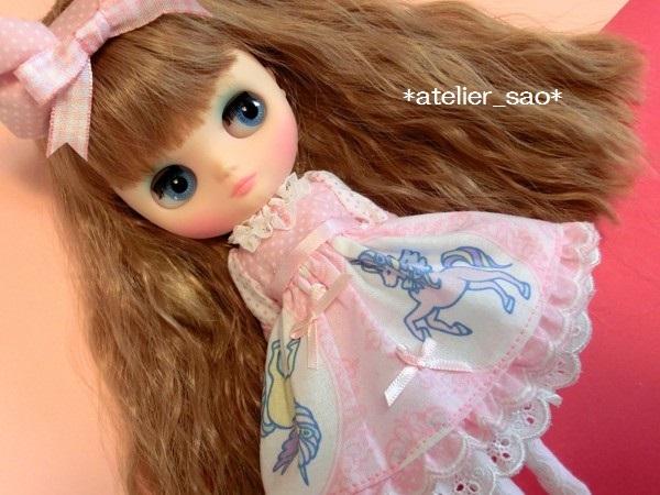 *atelier_sao*◆ゆめかわ☆ユニコーン☆ピンク◆ミディブライスアウトフィット2