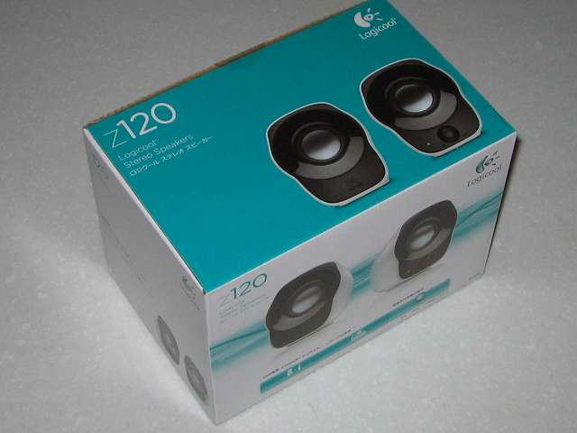 PC スピーカー Logicool Stereo Speakers Z120BW 購入
