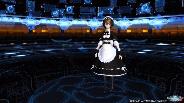 ゴシックメイドドレス1