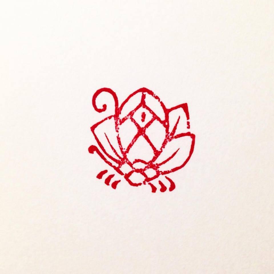 椿花蝶紋印02