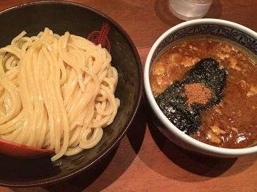 東京マラソンカーボつけ麺
