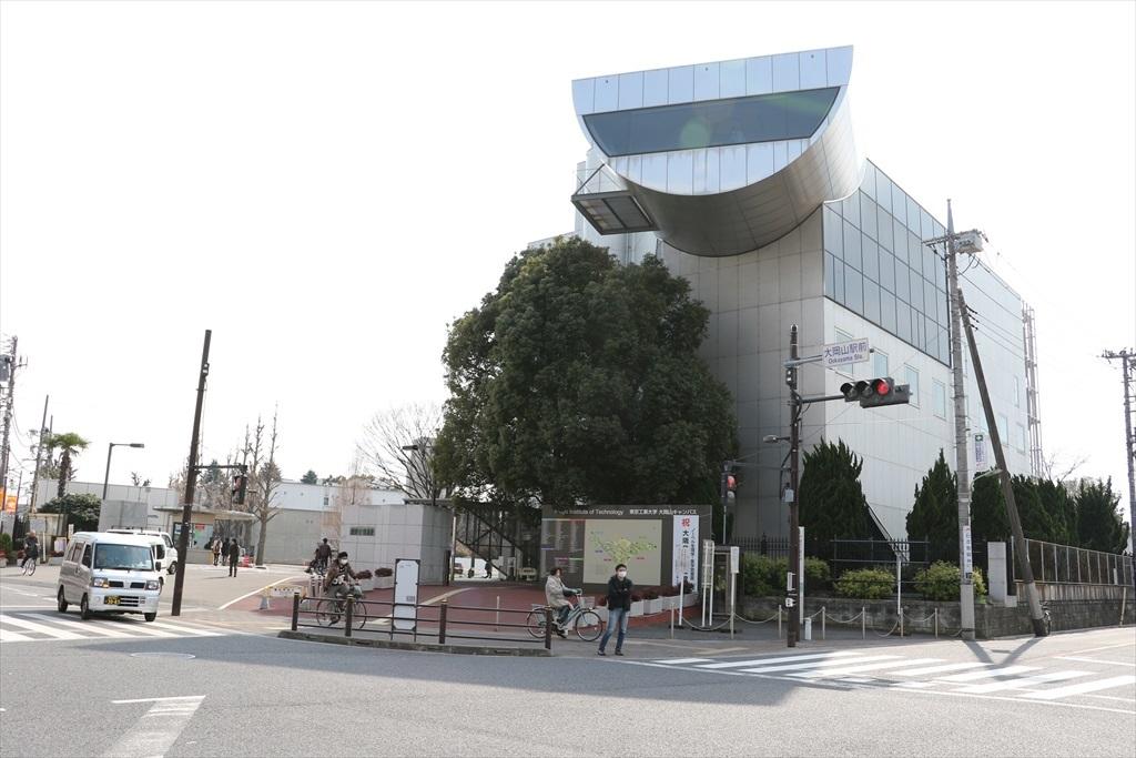大岡山駅近辺の様子_2