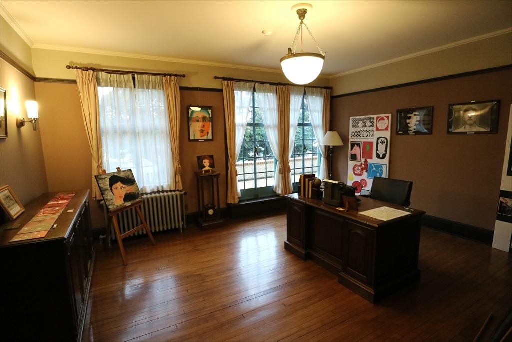 ベリック氏の執務室