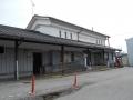 170305豊郷駅に戻ってきた