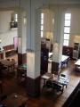 170311図書館を二階から見下ろす