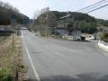 170318県道33号を右に入り岩船寺方面への裏道へ
