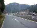 170326江文峠を越えて、静原に下りてきた