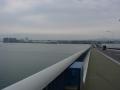 170401琵琶湖大橋を守山側へ渡る