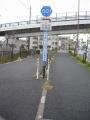 170401琵琶湖大橋を渡って湖岸の自転車道へ