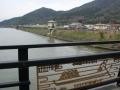 170401渡合橋を渡って湖岸道路へ
