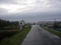 170408泉大橋手前でやっと雨も小降りに