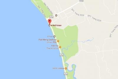 パクメンビーチ詳細図