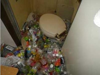 凄いトイレ