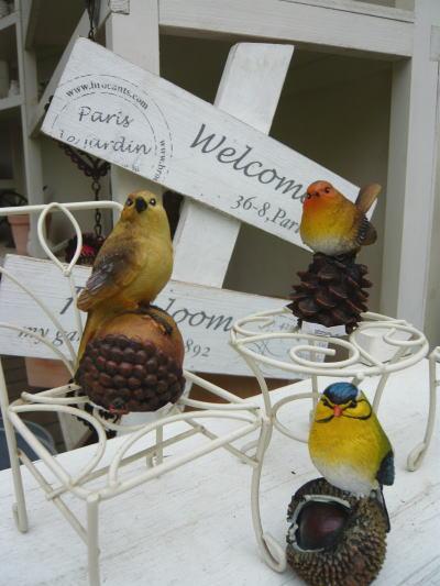 ブログ0225森の仲間たち小鳥オーナメントS B