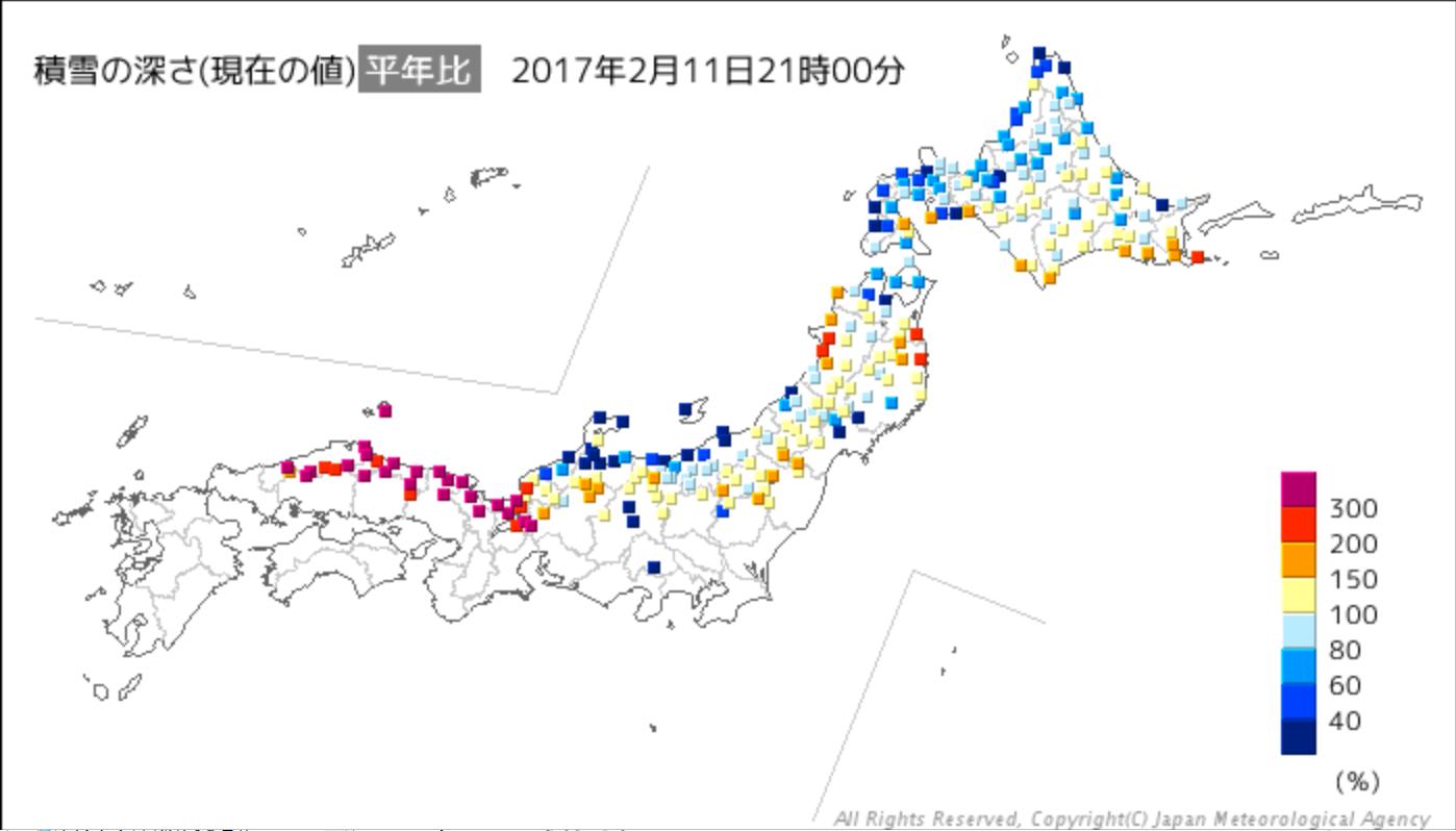 20170211積雪深平年比