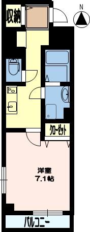 スカイガーデン(建託) 3号室