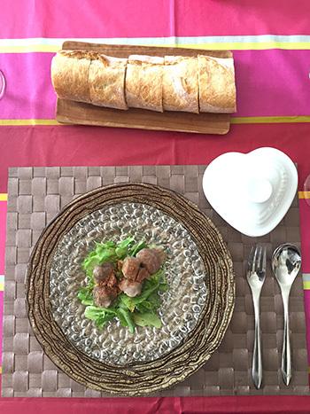 フランス南西部のお料理