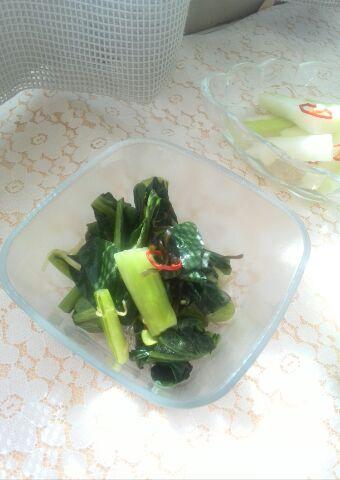 緑の葉物野菜レシピ