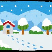 冬(雪景色