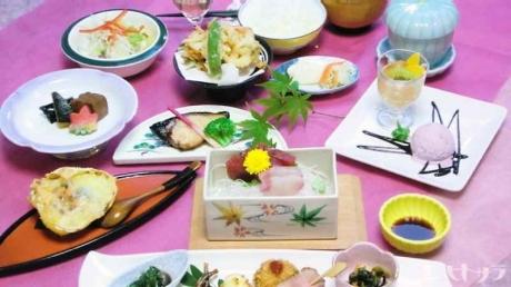 海鮮美寿穂ミニ会席2160円