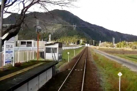 樽見鉄道 高科駅 snapshot