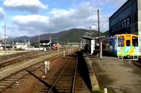 樽見鉄道 本巣駅snapshot