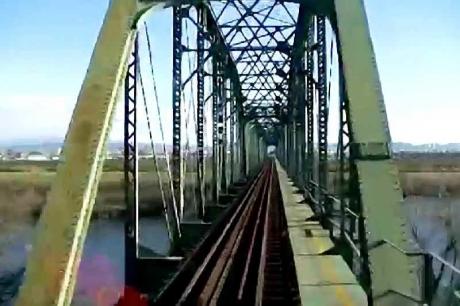 樽見鉄道 揖斐川鉄橋snapshot