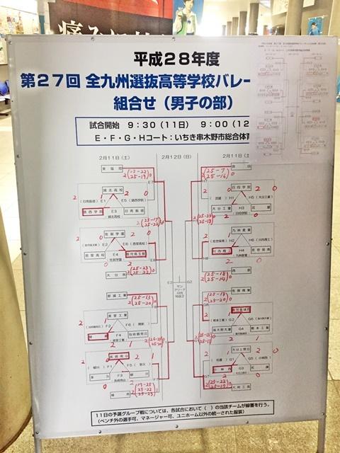 九州高校バレー1